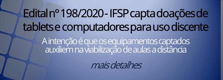 Edital nº 198/2020