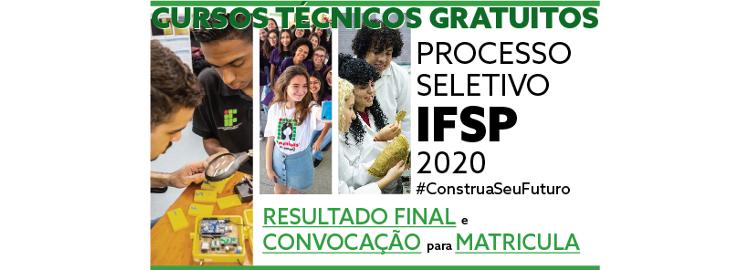 Processo Seletivo Cursos Técnicos - 2020/1